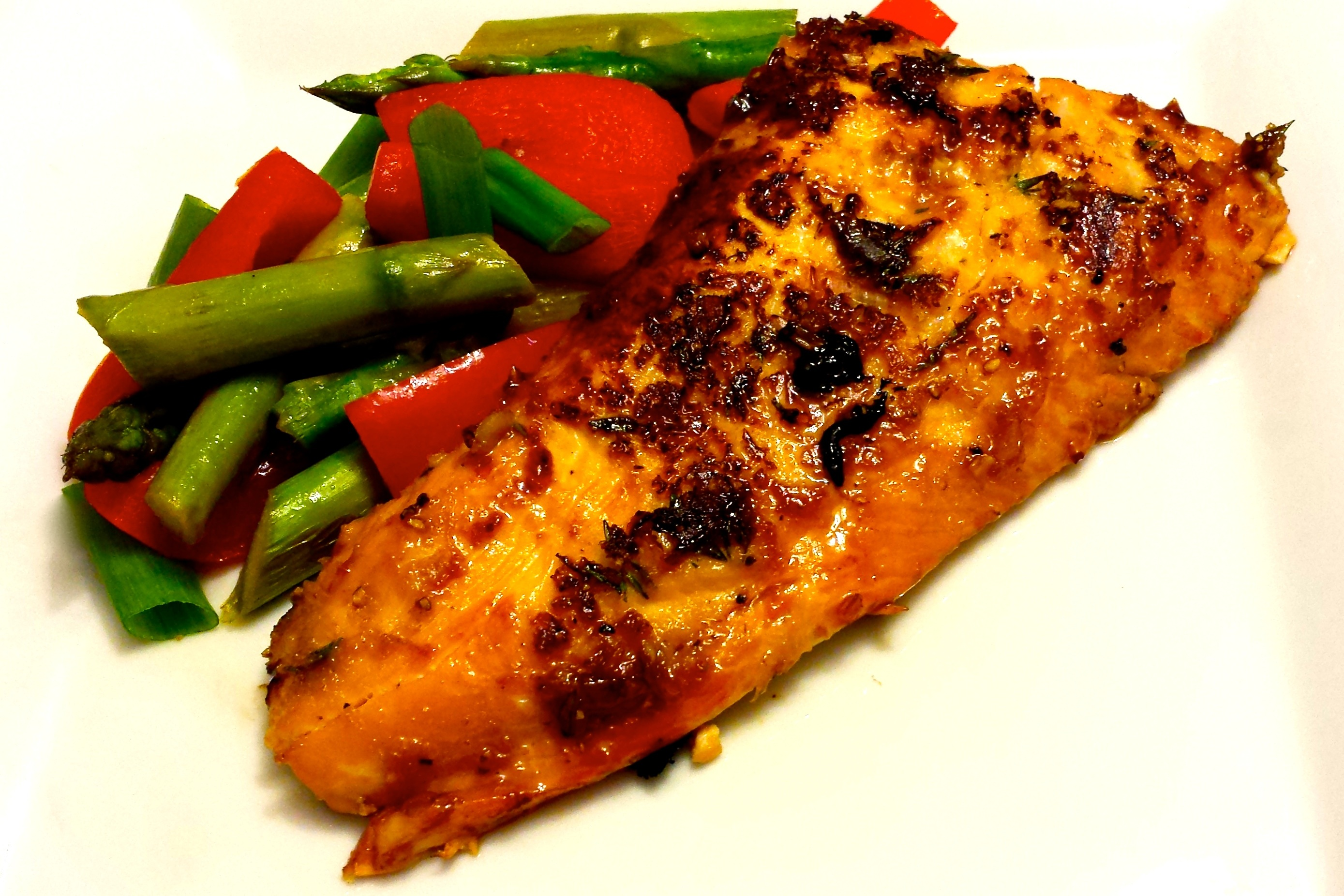 Maple Sugar Salmon